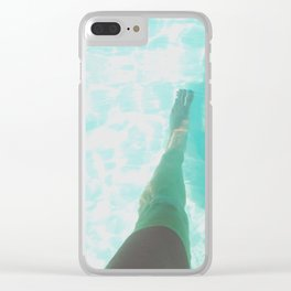 Step into Ocean Clear iPhone Case