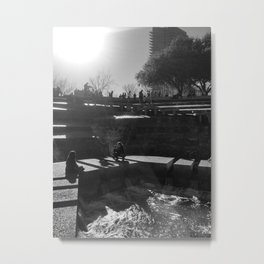 In the Shadows Metal Print