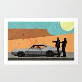 Grooming The Crime Scene - Better Call Saul Art Print
