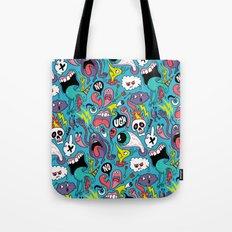 Doodled Pattern Tote Bag
