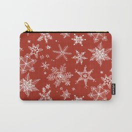 Snow Flakes 06 Carry-All Pouch