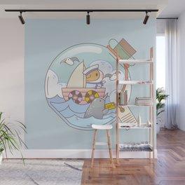 Bubu the Guinea pig, A jar of adventure Wall Mural