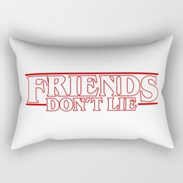 Stranger Thing FRIENDS DONT LIE Rectangular Pillow