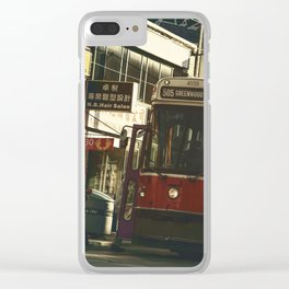 505 Dundas Streetcar China Town Clear iPhone Case