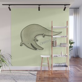 Croco-Smile Wall Mural
