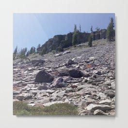 RockSlide Metal Print