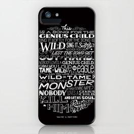 Genius Child iPhone Case
