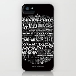 Genius Child iPhone Case