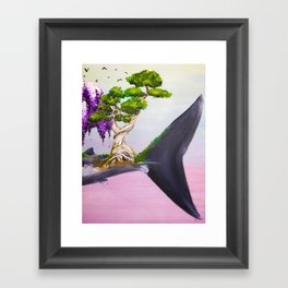 Aspidochelone Part III Framed Art Print