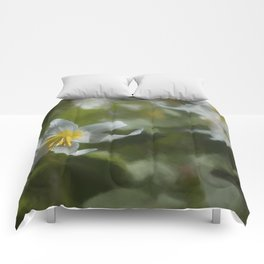 Avalanche Lily Painterly Comforters