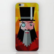 Mr. Evil Beard iPhone & iPod Skin