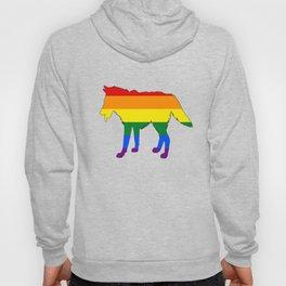 Rainbow Wolf Hoody