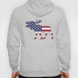 """Moose """"American Flag"""" Hoody"""
