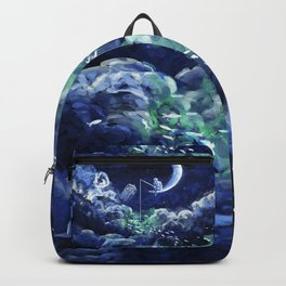 The Doctor Dreaming Of Fishing Backpack