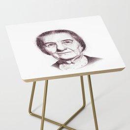 Golda Meir Side Table