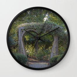 Seeking Solace Wall Clock
