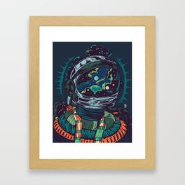 Center Of The Universe Framed Art Print