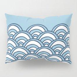 Waves Pillow Sham