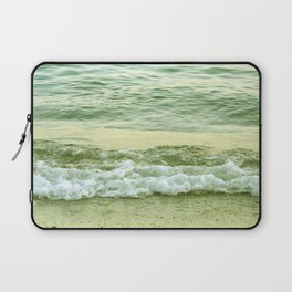 surf lace: gold variations Laptop Sleeve