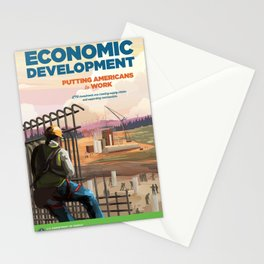 US Department of Energy LPO Poster - Economic Development (2016) Stationery Cards