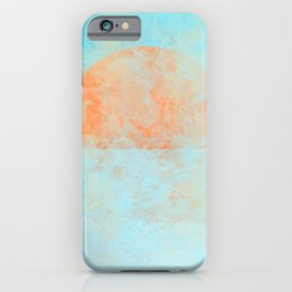 Informal sun iPhone Case