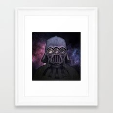 3 Eyes Darth Vader Framed Art Print