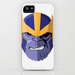 Thanos iPhone Case