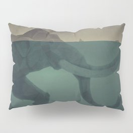Elephant mountain Pillow Sham