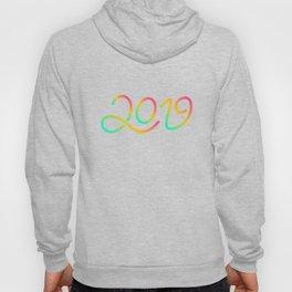 Happy New Year 2019 T-shirt LOV T-shirt Hoody