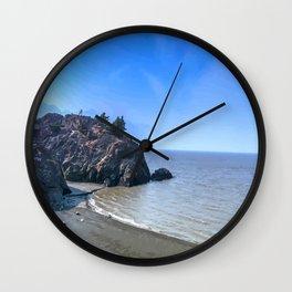 Let's Get Lost - Beluga Point Alaska Wall Clock