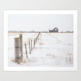 Abandoned South Dakota 8771 Art Print