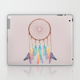 Gypsy Dreams Dreamcatcher on Rose with Gypsy Dreams Trim Laptop & iPad Skin