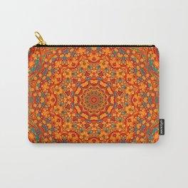 Perplexed - Decorative Paper Mandala Carry-All Pouch
