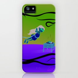 Falling In Love With Food iPhone Case