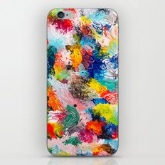 rainforest abstract 1 iPhone & iPod Skin
