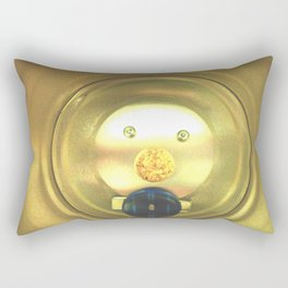 Tea jar smile. Rectangular Pillow