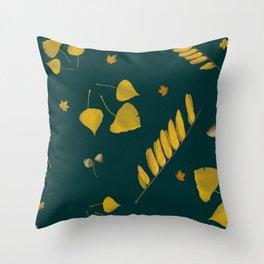 Golden epoch Throw Pillow