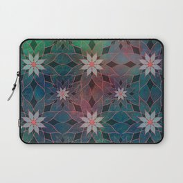 Water Lily Pattern Laptop Sleeve
