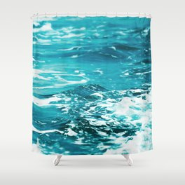 Oceanology #society6 #decor #buyart Shower Curtain