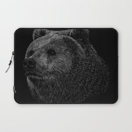 Bear Grizzly Laptop Sleeve