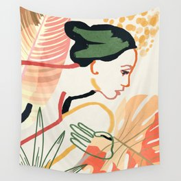 Colorful Garden III Wall Tapestry