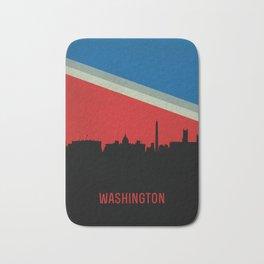 Washington Skyline Bath Mat