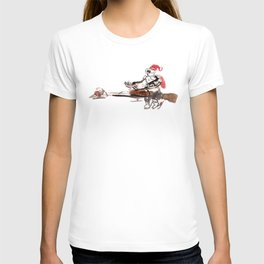 Santa Scout is Coming T-shirt