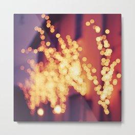 Bergamo Lights Metal Print