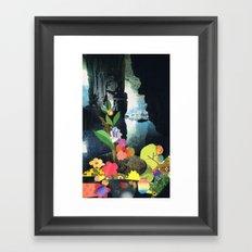 Cave Garden IV Framed Art Print
