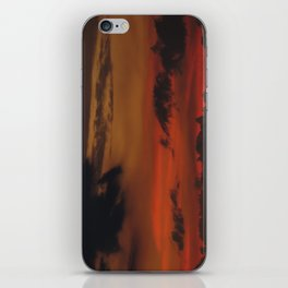A Sky On Fire - 2 iPhone Skin