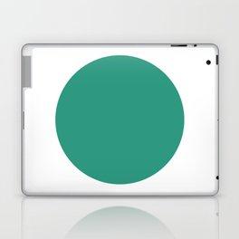Go | Green Circle Laptop & iPad Skin