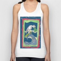 charlie Tank Tops featuring Charlie by Huiskat