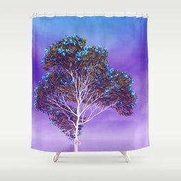 strange light somewhere -19- Shower Curtain