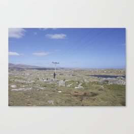 Golden Highway Lewis and Harris 2 Canvas Print